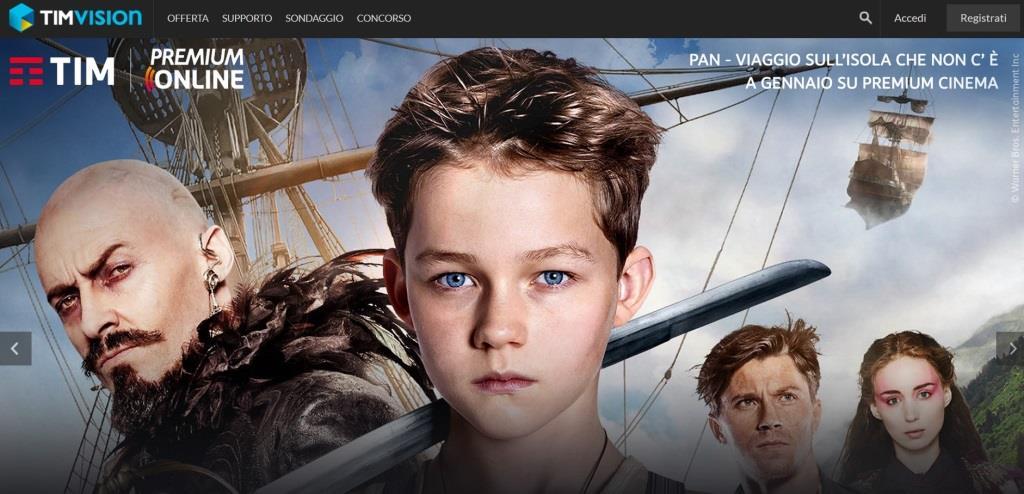 Film e Serie TV ovunque ti trovi a portata di click con Tim Vision!
