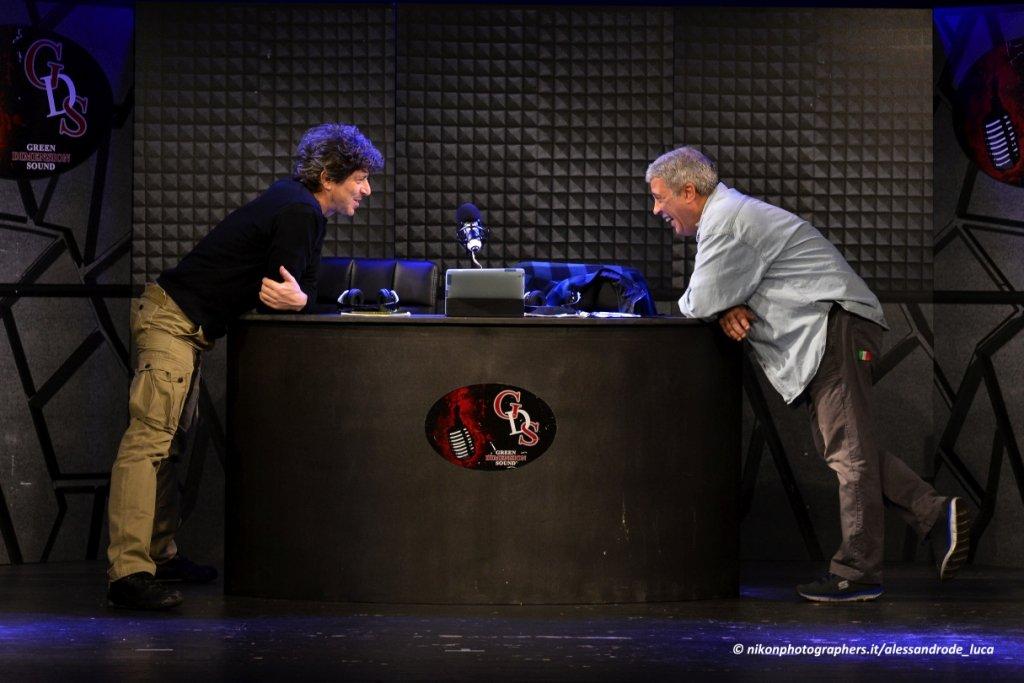 Michele La Ginestra e Sergio Zecca in Due di Notte una radio mai ascoltata!