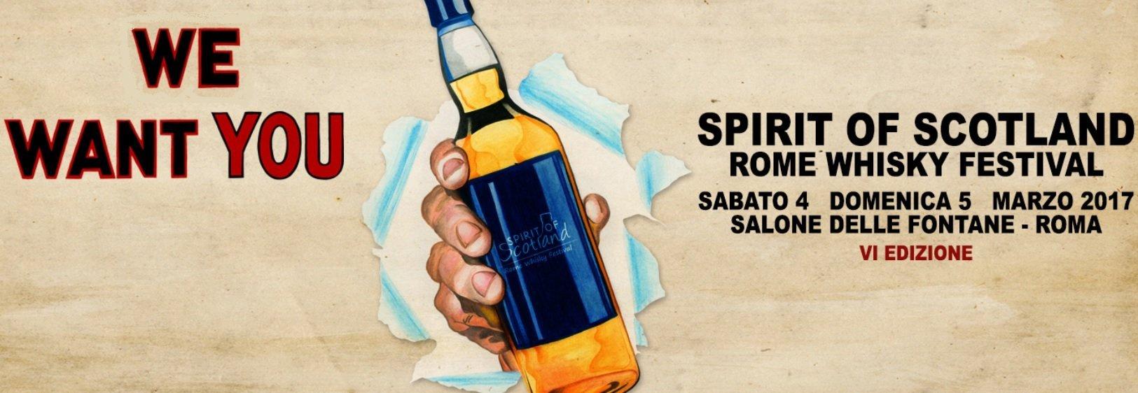 Arriva a Roma lo Spirito scozzese! Whisky e…