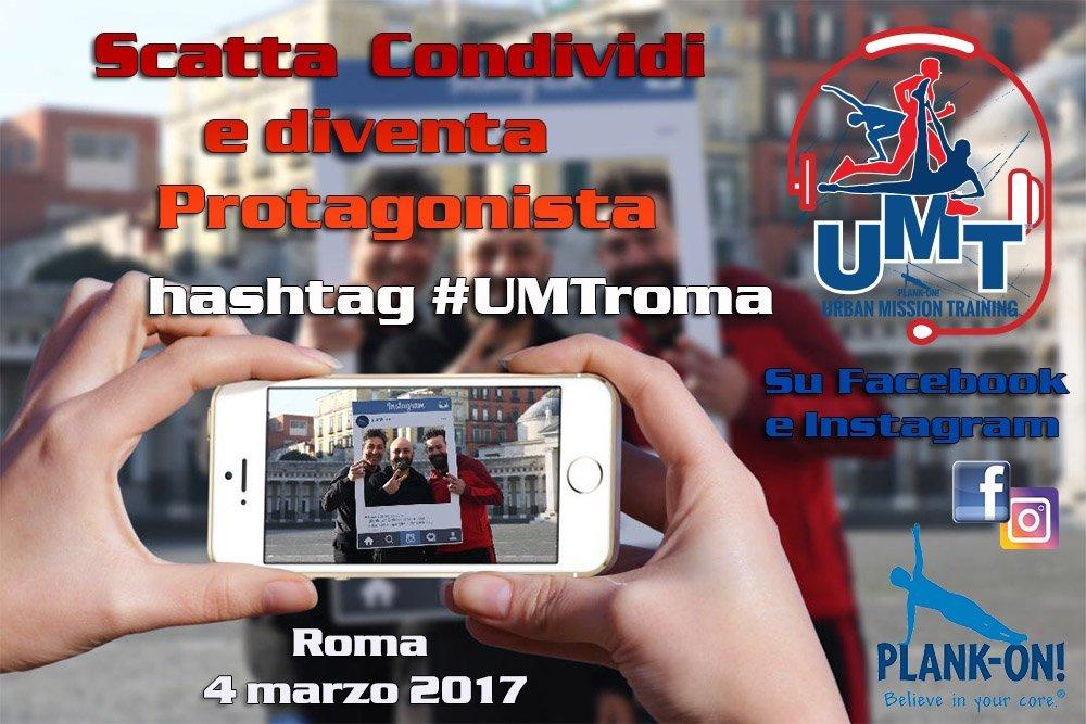 Urban Mission Training torna a Roma il 4 marzo tra sport, solidarietà e un contest fotografico