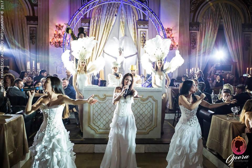"""ONE-NIGHT """"OPERA"""" cucina raffinata, musica e un pizzico di trasgressione a Palazzo Brancaccio"""