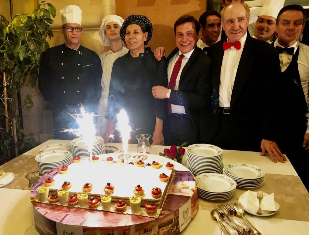 Il ristorante Camponeschi di piazza Farnese festeggia 30 anni di successi tra alta cucina, tradizione e innovazione
