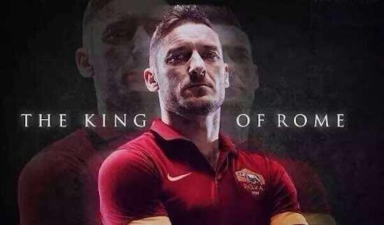 Francesco Totti Capitano mio Capitano