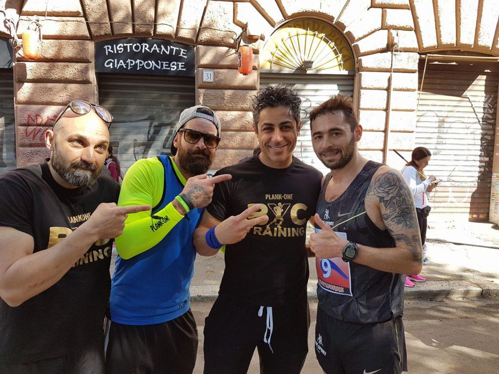 Il vincitore Andrzej Rafal Nordwiing Maratona primo maggio