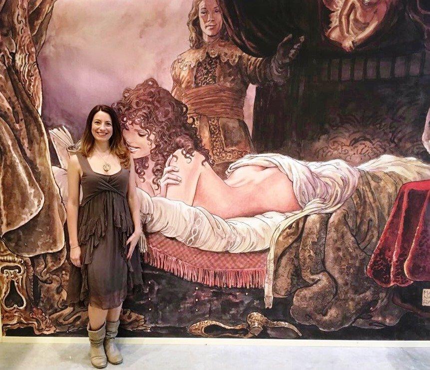 Milo Manara al Festival del Fumetto d'autore ARF! 2017