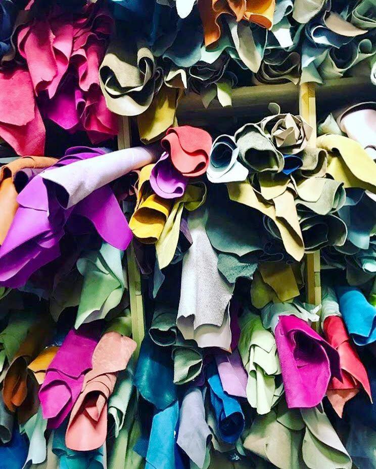 pelle colorata amahra bag ss17 roma