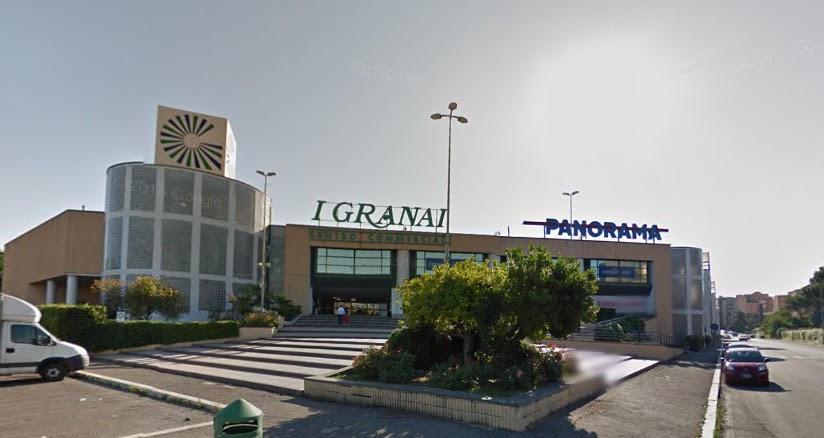 runner in vista centro commerciale i granai roma
