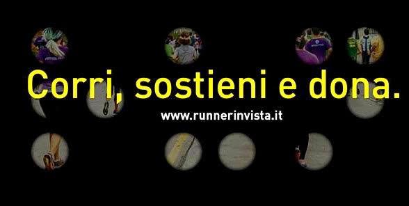 Runner in vista a Roma, corri sostieni dona!