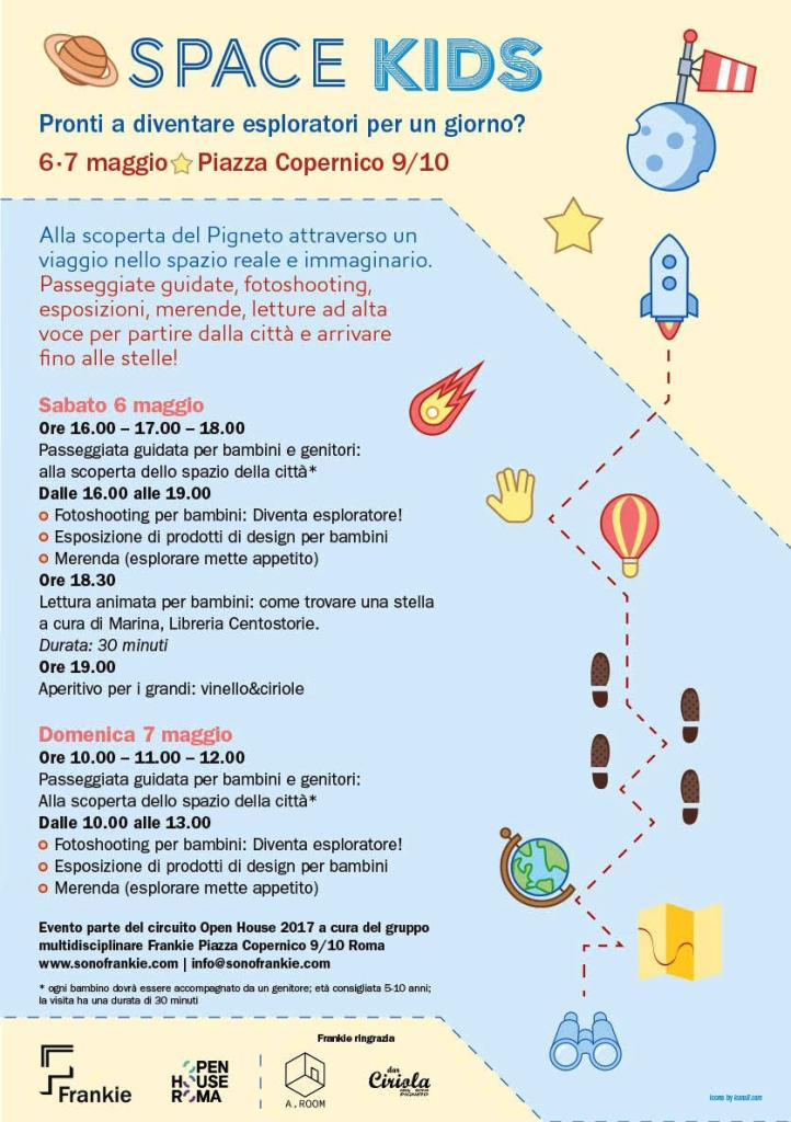 space kids pigneto Open House Roma 2017