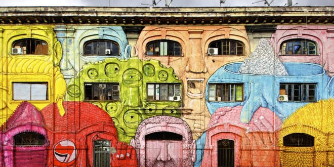 Rovescio street art Open House Roma 2017