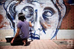 street art rovescio Open House Roma 2017