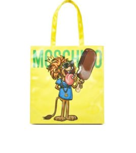 tendenze moda estate 2017 borse moschino shopper