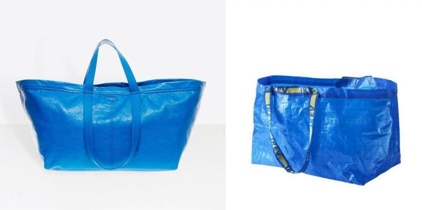 tendenze moda estate 2017 carry shopper balenciaga frakta ikea