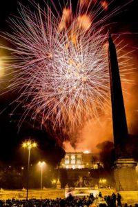 29 giugno eventi roma girandola fuochi d'arificio piazza del popolo
