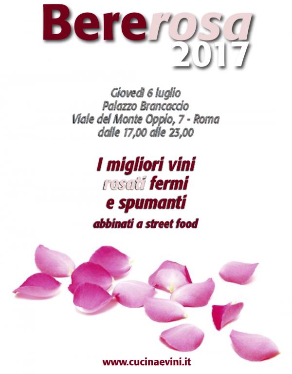 Bererosa 2017 Palazzo Brancaccio locandina