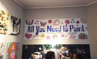 Mostre al Margutta All you need is paint