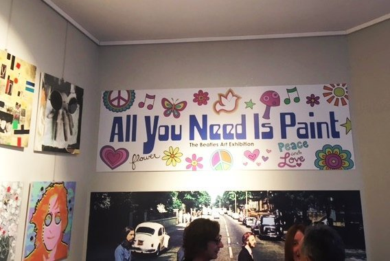 "Il Margutta rende omaggio ai Beatles con la mostra ""All you need is Paint"""