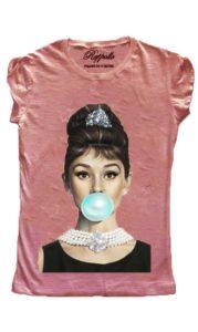 Ranpollo t-shirt basic audrey