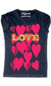 Ranpollo t-shirt gold love