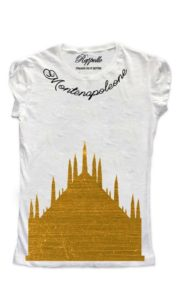 Ranpollo t-shirt gold montenapoleone