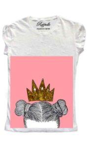 Ranpollo t-shirt gold queen