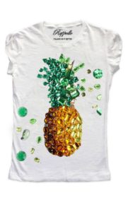 Ranpollo t-shirt limited ananas pineapple