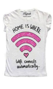 Ranpollo t-shirt limited wi-fi