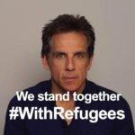 ben stiller Champions #withrefugees