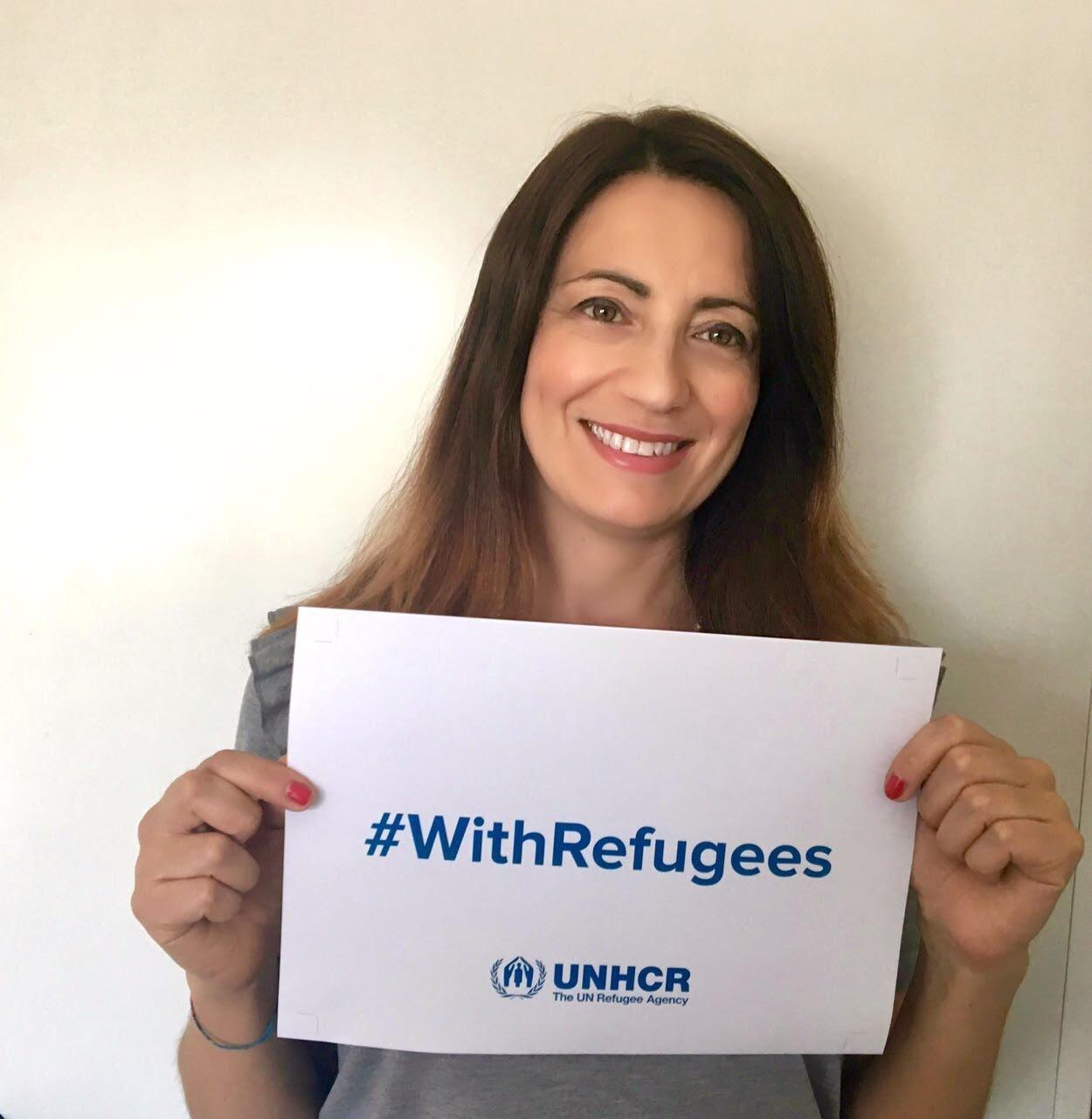 elenia blogandthecity Champions #withrefugees