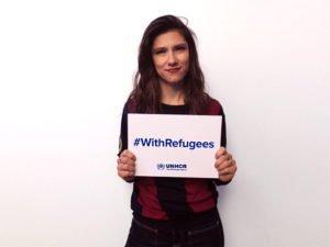 elisa Champions #withrefugees