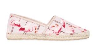 fenicotteri rosa flamingo mania espadrillas red valentino