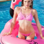 fenicotteri rosa flamingo mania gonfiabile piscina sunsisters dayane mello