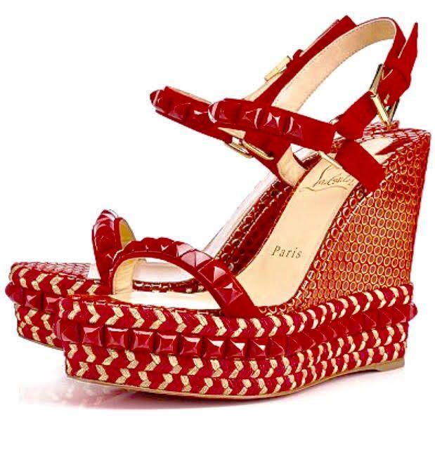 louboutin Espadrilles & Sandals Rosso