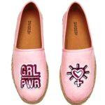 tendenza scarpe estate 2017 espadrillas espadrilles H&M rosa