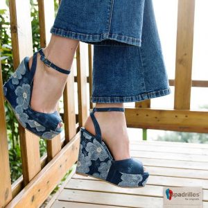 tendenza scarpe estate 2017 espadrillas espadrilles denim jeans