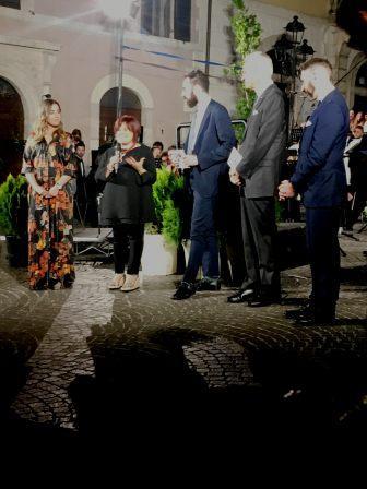 33° festival internazionale di mezza estate, chiara nanni, pezzopane, vincenzo giovagnorio ambasciatore santa sede