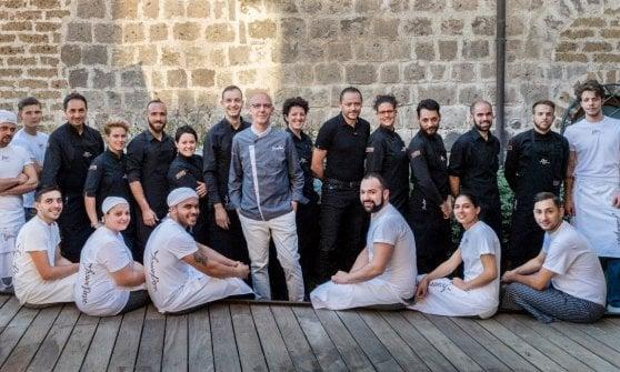 Franco-Pepe-di-Pepe-in-Grani-migliore-pizzeria-Italia-squadra