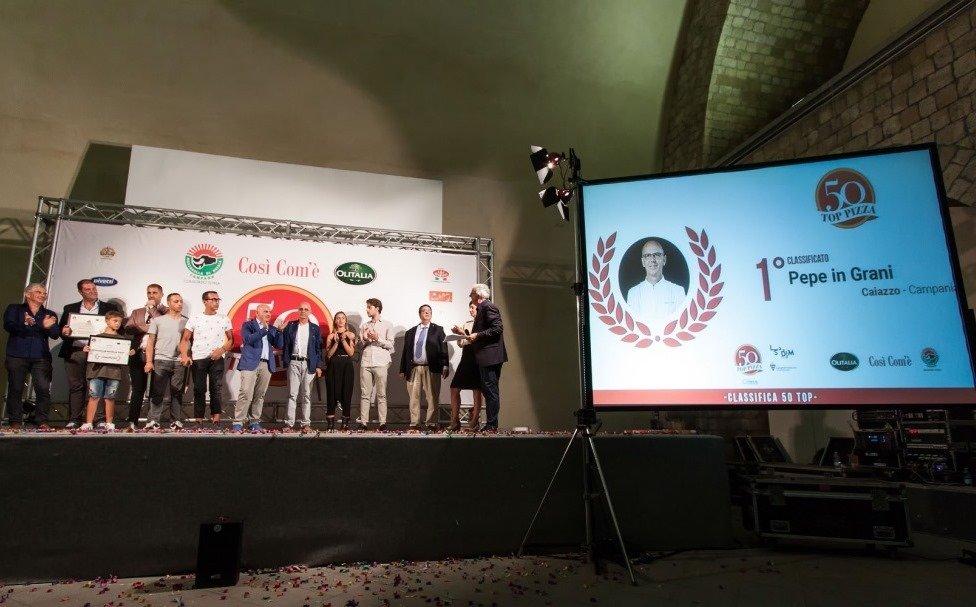 Pepe in Grani incoronata la migliore pizzeria d'Italia secondo 50 Top Pizza