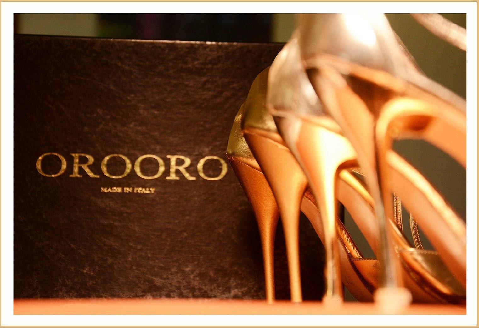 OROORO le calzature di lusso di Oronzo De Matteis ad Altaroma