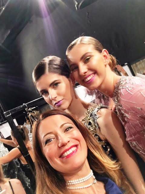 altaroma 2017 sfilate Rani Zakhem backstage con elenia scarsella blogandthecity