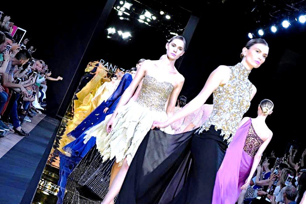 altaroma 2017 sfilate Rani Zakhem passarella finale