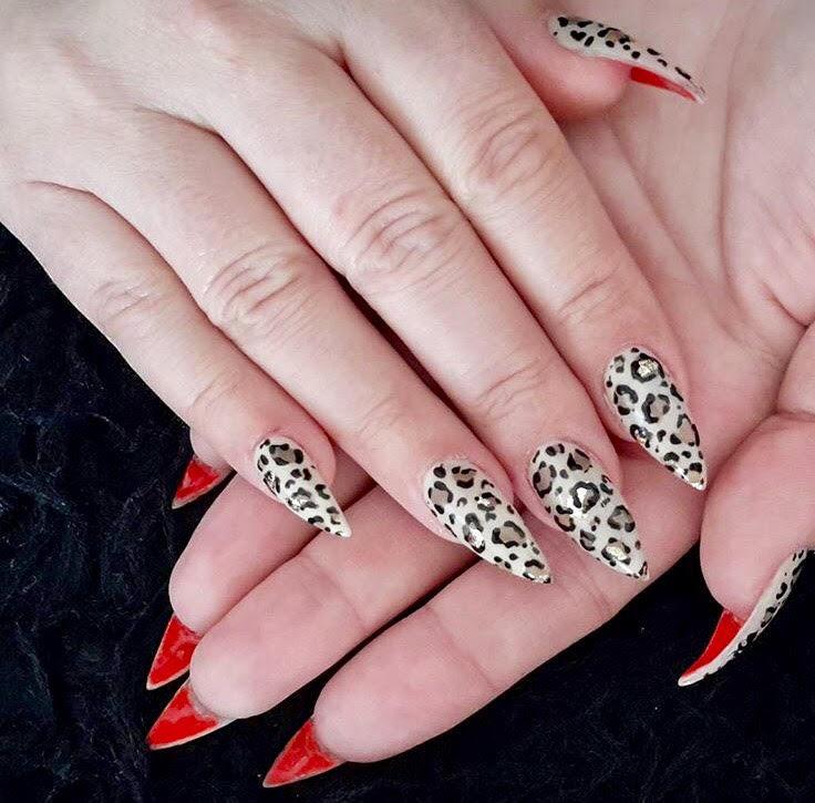 tendenze 2017 flip manicure animalier leopardato