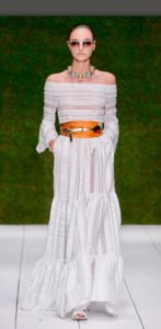 tendenze estate 2017 total white abito bianco Laura Biagiotti