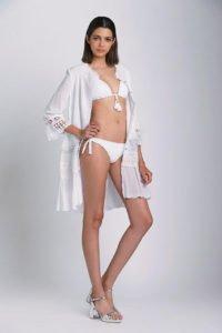 tendenze estate 2017 total white costume bikini bianco raffaella d'angelo