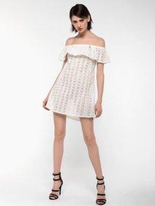 tendenze estate 2017 total white vestito pizzo sangallo patrizia pepe
