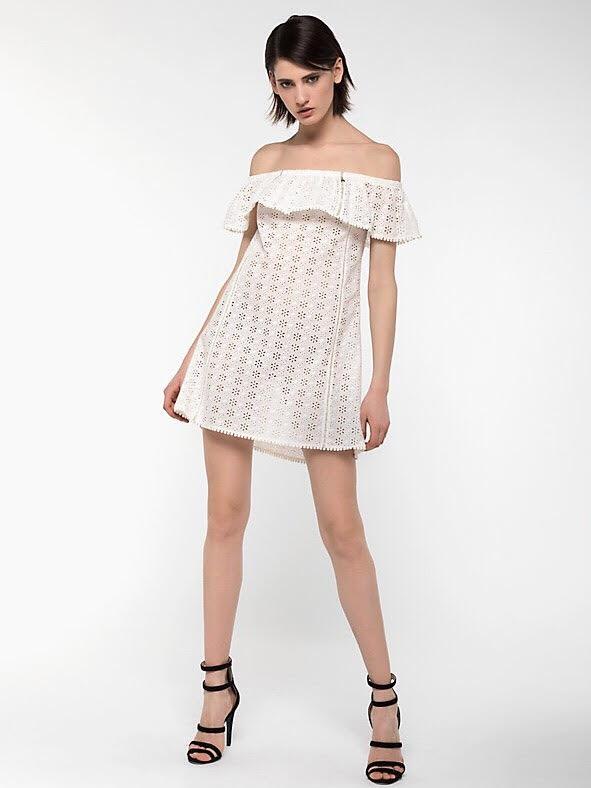 new product b7073 85785 Blog and the City - tendenze estate 2017 total white vestito ...