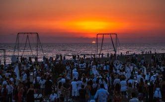 week end 29 30 luglio roma fregene tramonto al singita miracle beach 1