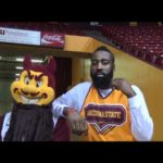 James Harden Arizona State college tour roma mascotte