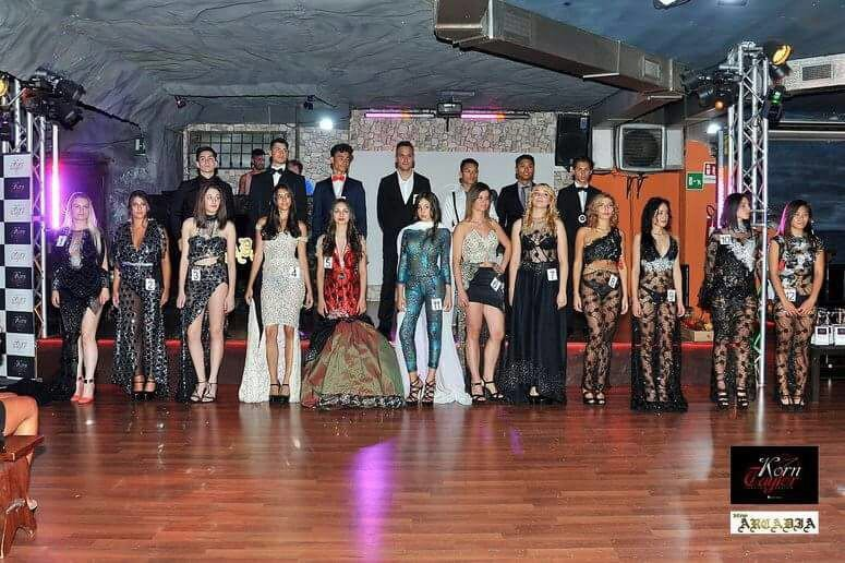 Model Night Runway sfilata-casting dello stilista Korn Taylor