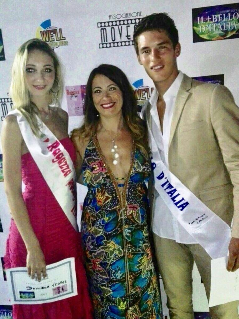 concorso il + bello d'italia e ragazza protagonista 2017 daniela vrabie, blogandthecity, stefano pica
